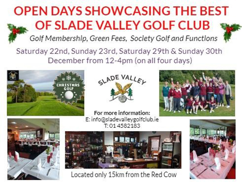 Open Days At Slade Valley Golf Club